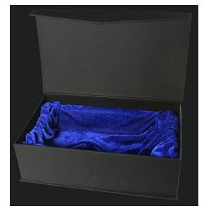glaswert-schwarze-geschenk-box
